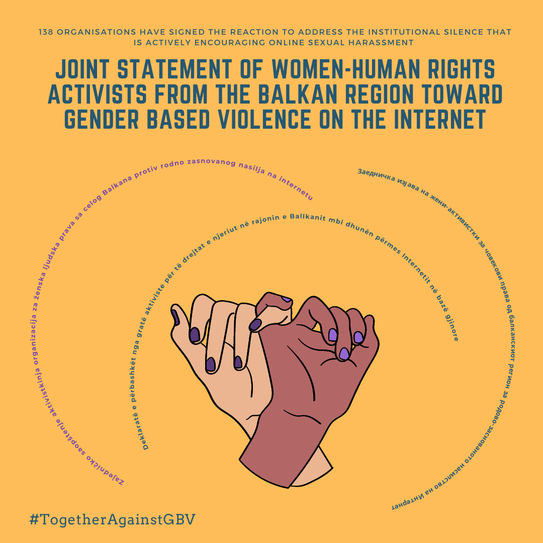 NEW Regional Statement on Sexual Violence and Sexual Harassment of Women on the Internet